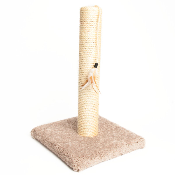 Grreat Choice Sisal Carpeted Post