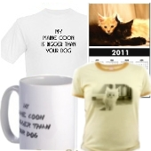 unique maine coon cat gifts at cafepress