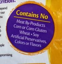 wellness cat food natural label