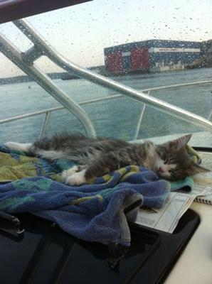 Sleeping on the Boat